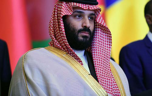 Thái tử Mohammed bin Salman,
