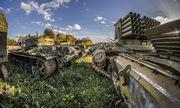 Những vũ khí bị lãng quên trong nghĩa trang tăng thiết giáp Nga