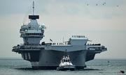 Lễ biên chế tàu sân bay lớn nhất lịch sử nước Anh