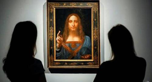 Bức tranh vẽ Chúa Jesu mang tên Salvator Mundi của Leonardo da Vinci