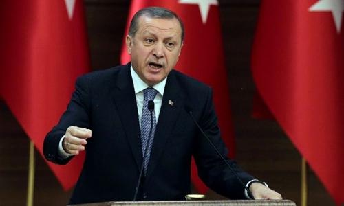 Tổng thống Thổ Nhĩ Kỳ Tayyip Erdogan. Ảnh: AFP.