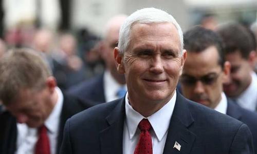 Phó tổng thống Mỹ Mike Pence. Ảnh: Reuters.