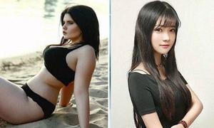 Sự khác biệt khó tin giữa ảnh hotgirl trên mạng và đời thực