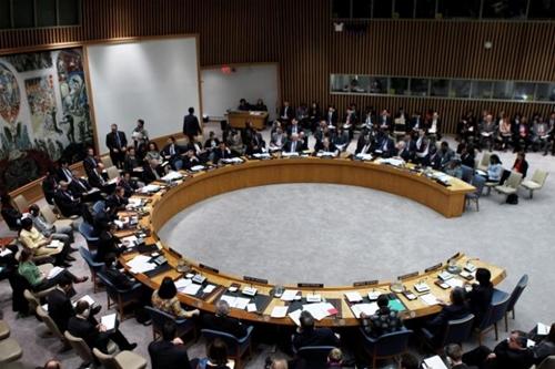 Một phiên họp tại Hội đồng Bảo an Liên Hợp Quốc. Ảnh: Reuters.