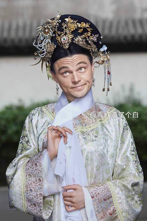 Leonardo DiCaprio trở thành một phi tần thông minh, tinh ranh hay bày trò chọc phá chốn hậu cung.