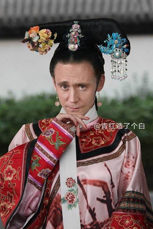 Loki (Tom Hiddleston) công chúa thẹn thùng khoe vẻ đẹp ngọc ngà.