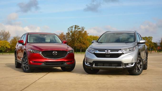 Honda CR-V và Mazda CX-5 - cuộc so kè khốc liệt