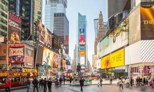 New York - Quảng trường thời đại - Times Square
