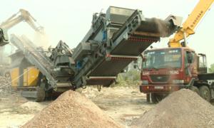 Hà Nội vận hành thử máy nghiền chất thải rắn giá 20 tỷ đồng