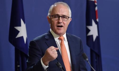 Thủ tướng Australia Malcolm Turnbull. Ảnh: REuters.