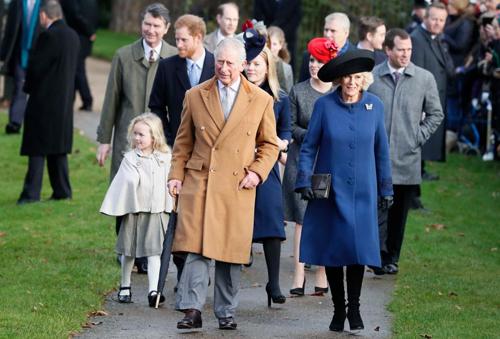 Các thành viên của hoàng gia Anh đến tham dự sự kiện năm 2016. Ảnh: AP.