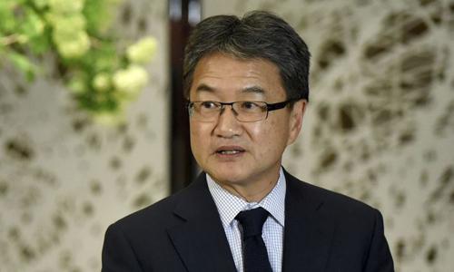 Đặc phái viên của Mỹ về chính sách Triều Tiên Joseph Yun. Ảnh: AP.