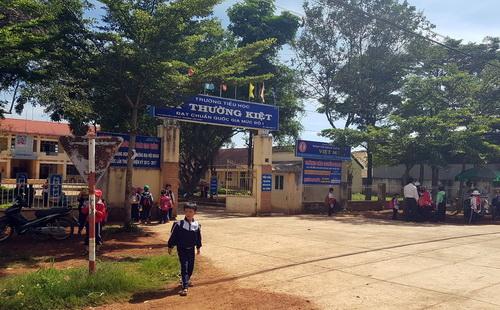 Trường tiểu học Lý Thường Kiệt. Ảnh: Hoài Thanh