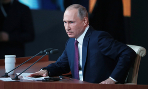 Putin sẽ là ứng viên độc lập tranh cử tổng thống Nga