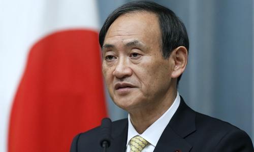Chánh văn phòng Nội các Nhật Bản Yoshihide Suga. Ảnh: Japan Times.