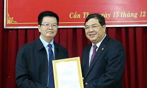 Phó bí thư Cần Thơ làm Phó Ban Nội chính Trung ương
