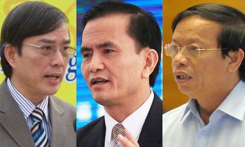 Hàng loạt cán bộ bị Ủy ban Kiểm tra Trung ương đề nghị kỷ luật