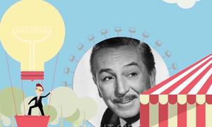 Con đường thành công đầy chông gai của Walt Disney