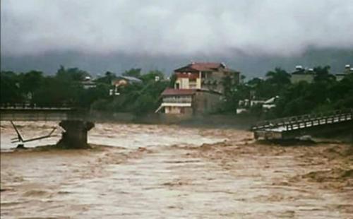 Bộ Giao thông: Sập cầu ở Yên Bái do thiên tai bất thường