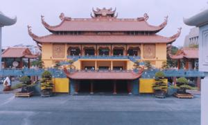 Ngôi chùa lưu giữ xá lợi trái tim hòa thượng Thích Quảng Đức