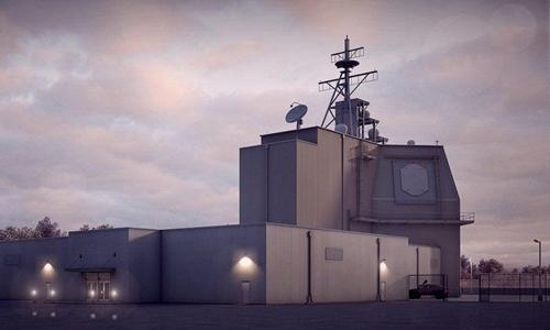 Một hệ thống phòng thủ tên lửa trên mặt đất Aegis Ashore của Mỹ. Ảnh: Navy.mil.