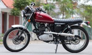 Thợ Việt lột xác Suzuki HJ125 phong cách scrambler