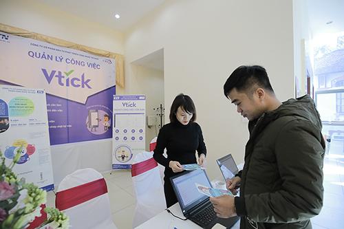Ứng dụng phần mềm Vtick trong doanh nghiệp