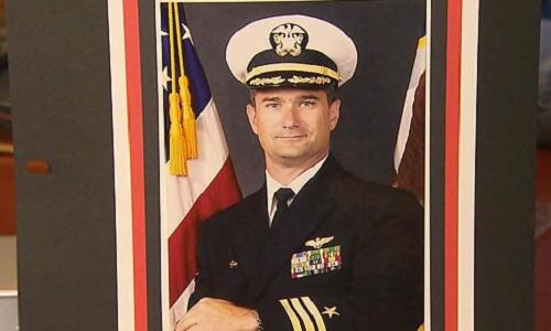 Trung tá David Fravor. Ảnh: ABC News.