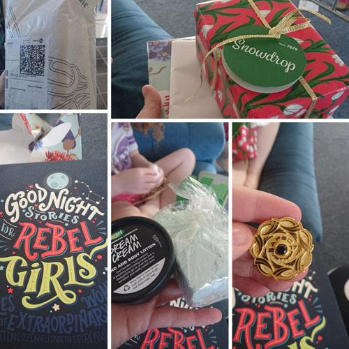 Những món quà bà già NoelJacinda Ardern