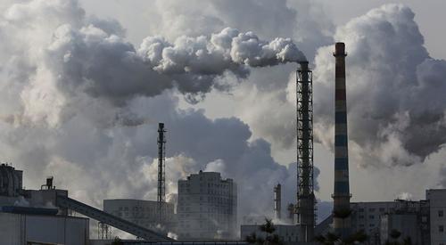 Than đá bị coi là thủ phạm gây ô nhiễm không khí hàng đầu ở miền bắc Trung Quốc. Ảnh: Climate Home.