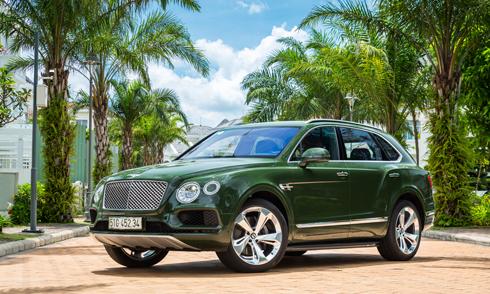Bentley Bentayga W12 Bespoke độc nhất Việt Nam.