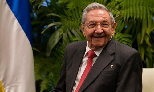 Chủ tịch Cuba Raul Castro. Ảnh: AFP.