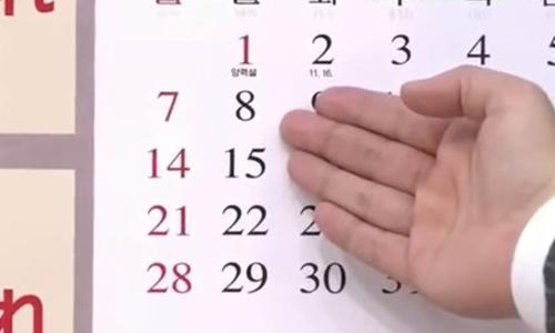 Ngày sinh của ông Kim, được tin là 8/1,