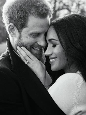 Ảnh đính hôn của Hoàng tử Harry và hôn thể Meghan donhiếp ảnh gia thời trang Alexi Lubomirski chụp