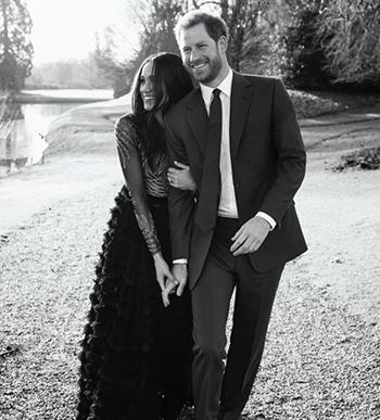 Hai người sẽ tổ chức đám cưới vào tháng 5 tới.Ảnh:Alexi Lubomirski