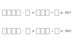 Bài toán điền số lớp 5 có thể khiến người lớn bối rối
