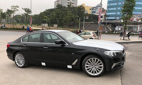 BMW serie thế hệ mới lần đầu xuất hiện tại Việt Nam.