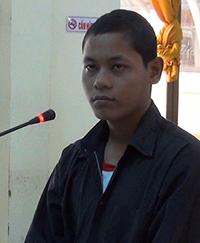 Danh Hoàng Chim nhận mức án 7 năm tù vì tội Hiếp dâm trẻ em. Ảnh: Lan Vy