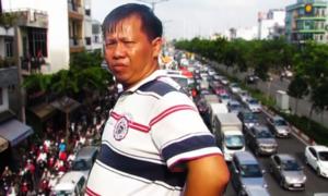 Kẹt xe nhiều giờ trên đường nội đô đẹp nhất TP HCM