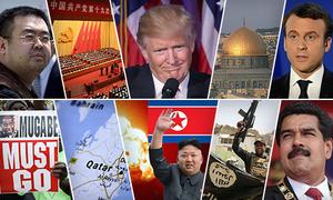 10 sự kiện nổi bật thế giới 2017
