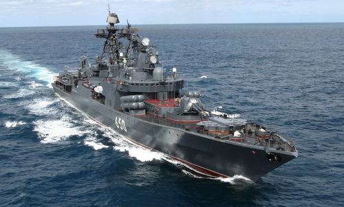 Tàu khu trục Đô đốc Chabanenko thuộc lớp Udaloy II. Ảnh: Wikipedia.