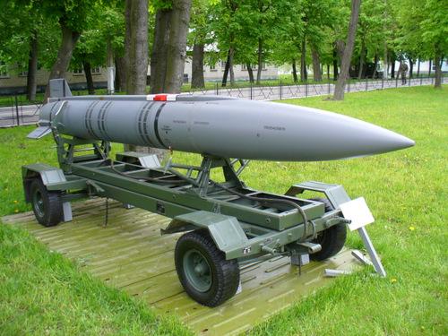 Tên lửa Kh-15 đã bị loại biên. Ảnh: Wikipedia.