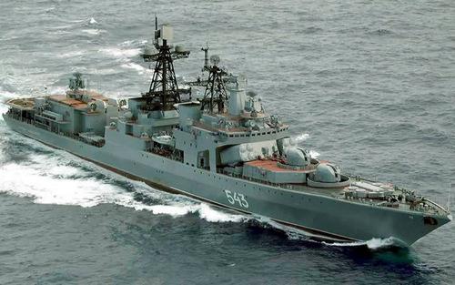 Tàu khu trục chống ngầm lớp Udaloy I. Ảnh: Military Today.