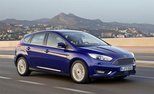 Focus thế hệ hiện hành. Ảnh: Ford.