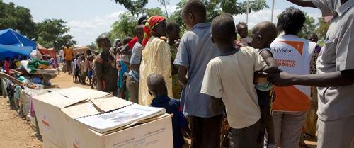 Nam Sudan dựa chủ yếu vào nguồn viện trợ của Mỹ. Ảnh: UNICEF.