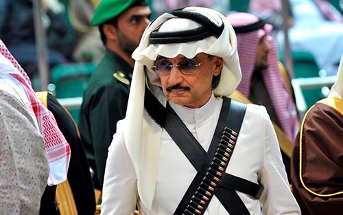 Hoàng tửAl-Waleed,người giàu thứ 57 trên thế giới. Ảnh: Telegraph