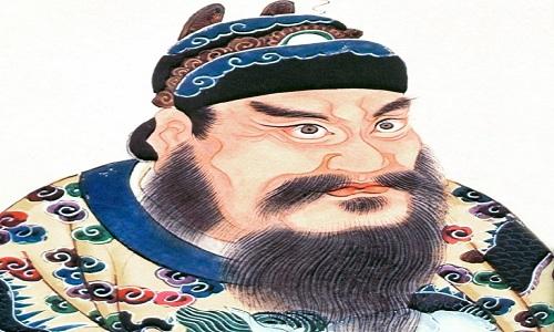 Khắc họa chân dung Tần Thủy Hoàng, hoàng đế đầu tiên của Trung Quốc. Ảnh: Wikipedia.