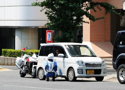 Cách xử phạt kỳ lạ của cảnh sát giao thông Nhật