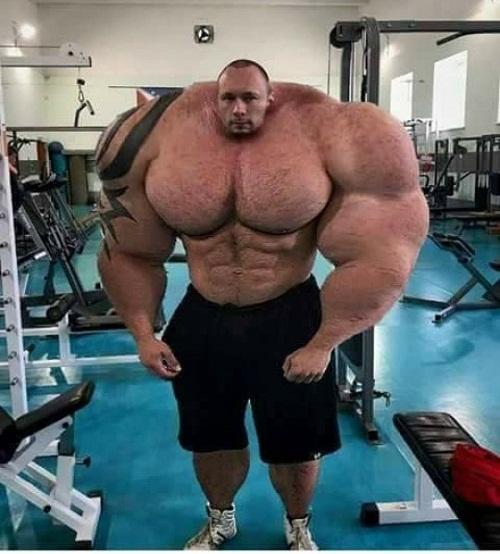 Hulk phiên bản đời thực.