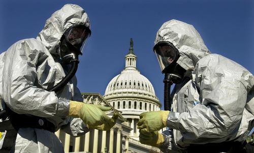 Bệnh than từng được dùng trong đợt tấn công khủng bố tại Mỹ năm 2001. Ảnh: NTI.